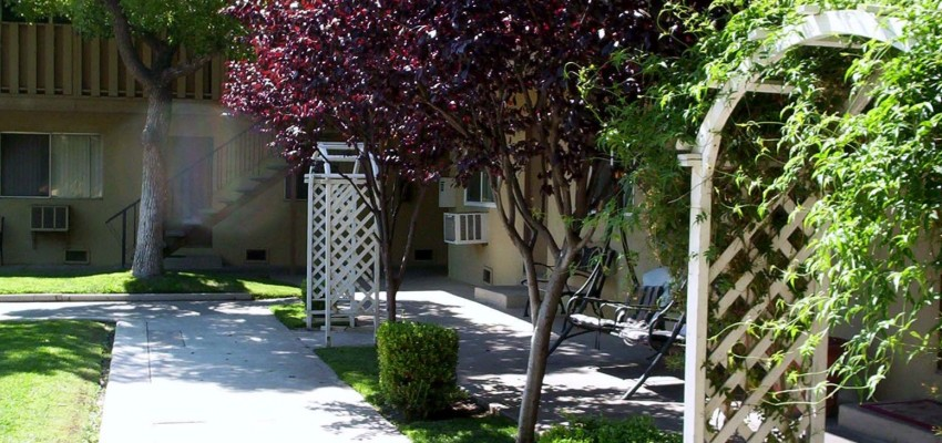Apartment Community with Landscaping